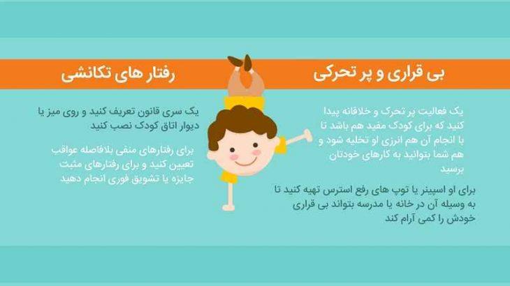 مشکلات بیش فعالی کودکان