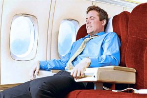 کلاستروفوبیا در هواپیما