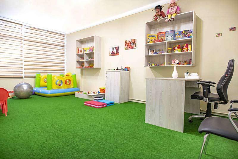 اتاق کودک، توانبخشی کودک، کلینیک روانشناسی کودک